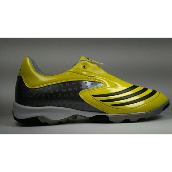 quality design 1525f 3f799 2008 Adidas F10.8 TRX TF Yellow Soccer Shoes